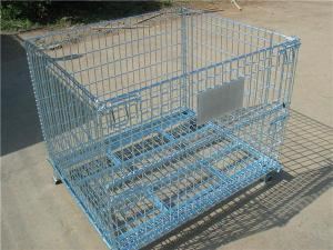 Wire Mesh Folding Container
