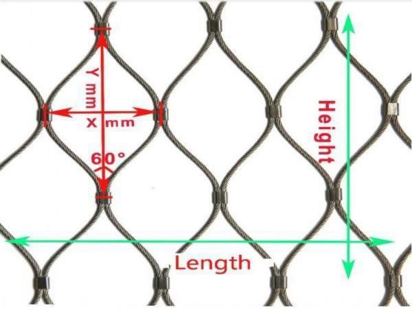 Ferrule Stainless Steel Wire Rope Mesh | ZhongDi